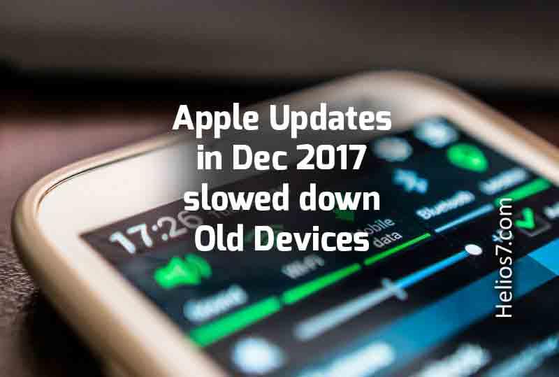apple battery slow down
