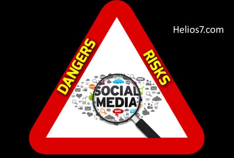 dangers social media risks