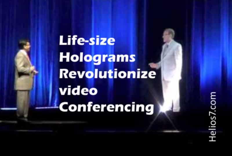 holograms video conferencing