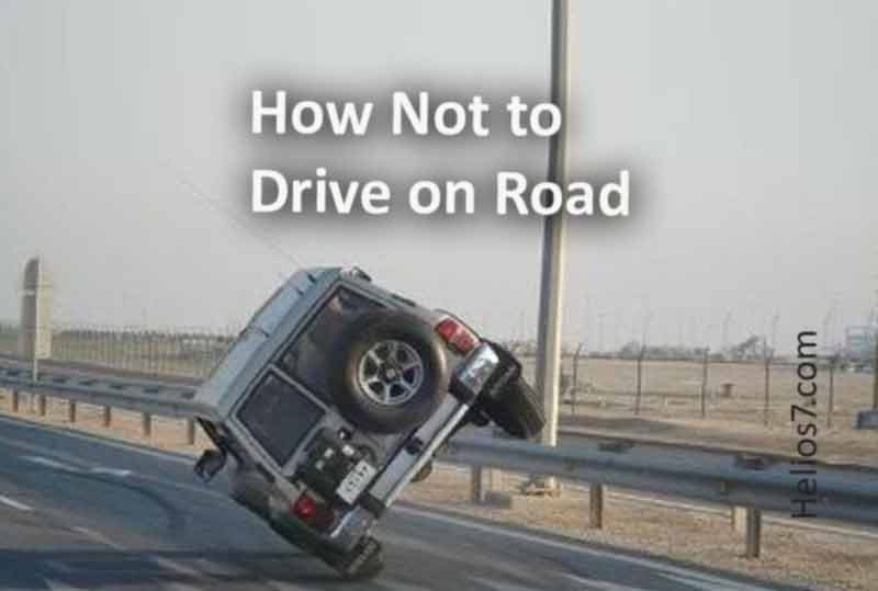 how not to drive