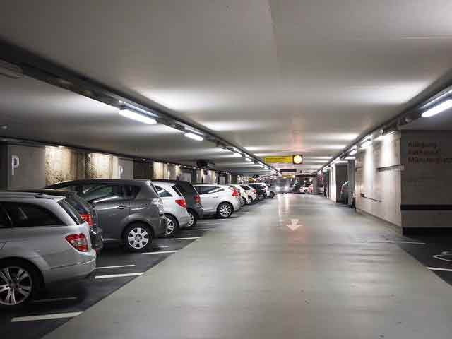 car parking security