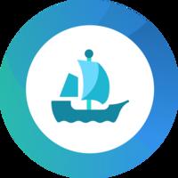 OpenSea logo