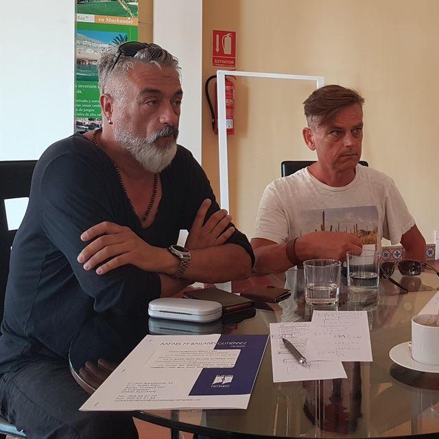 Marco en Frank Almanzora Spanje