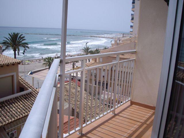 Ap2002 El Campello Balkon zee