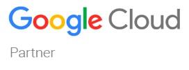 Hiver Signup page Google Cloud Partner Badge