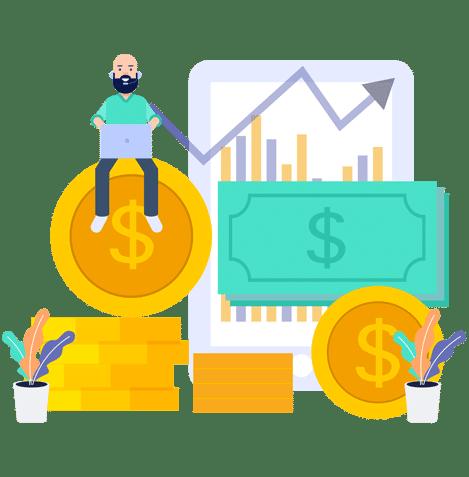 Hiver Shared Inbox Finance Team Growth Illustration