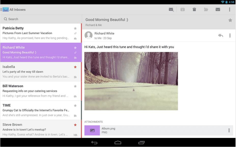 Cloudmagic Android