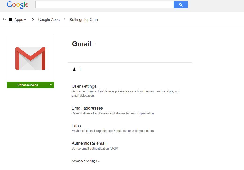 DKIM settings - Gmail