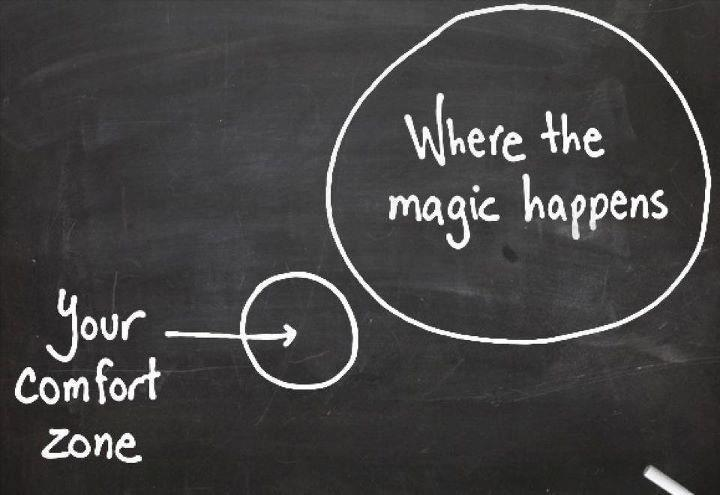 Successful people_go outside the comfort zone