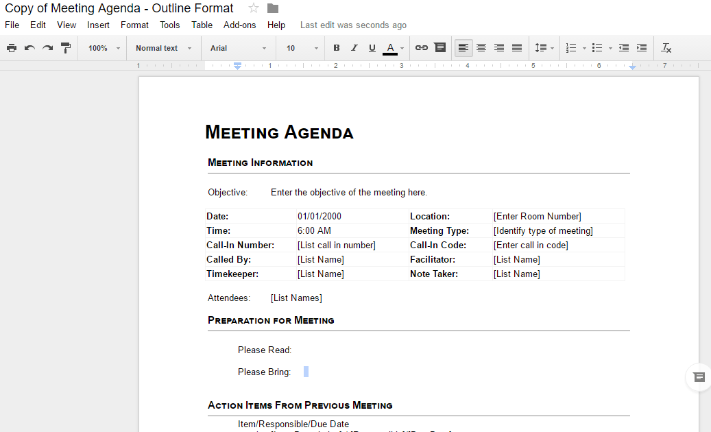 Google docs add-ons Template Gallery