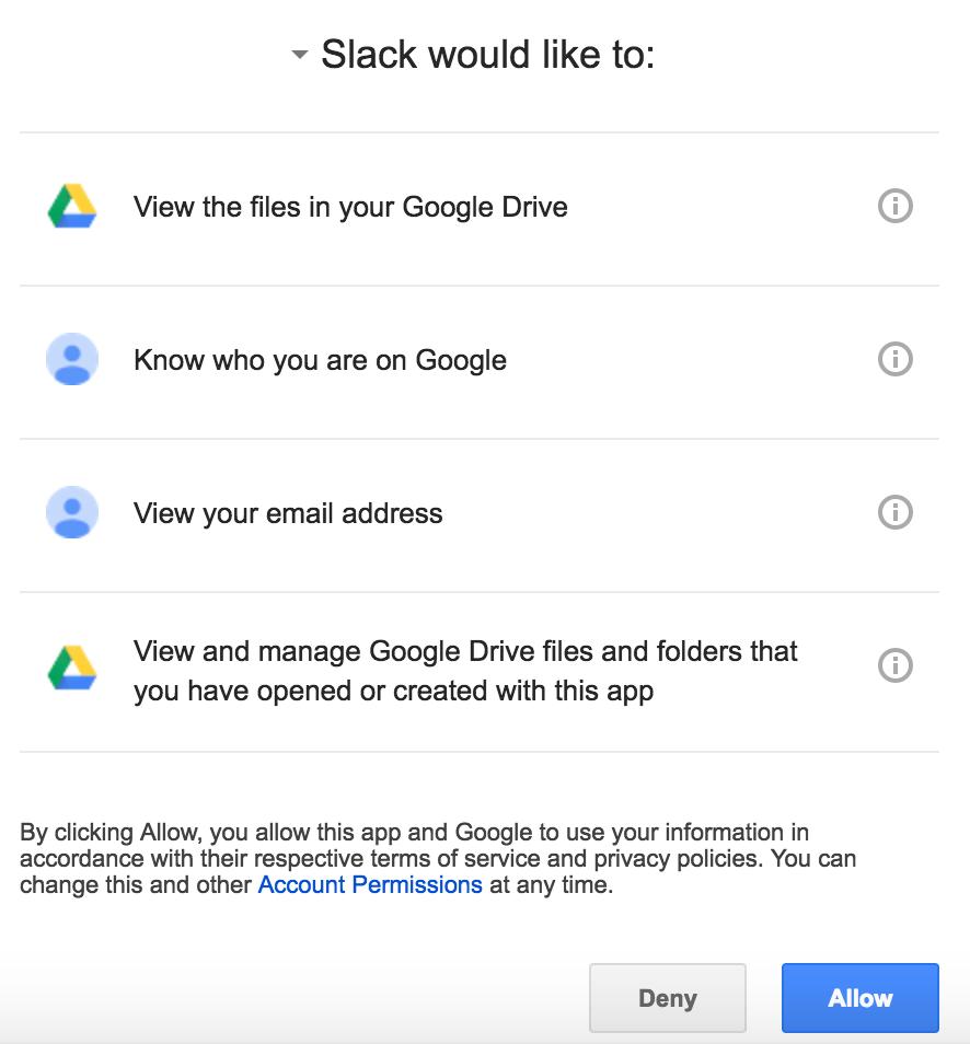 Google docs slack 3