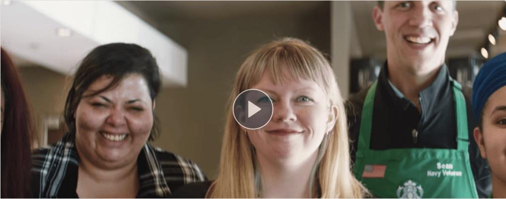 Facebook Workplace live video starbucks