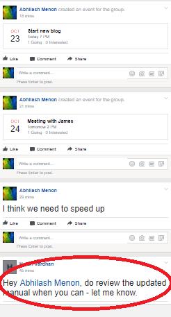 Facebook Workplace task delegation 1.2