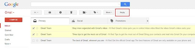 Batch Reply - Google Chrome extensions for managing emails