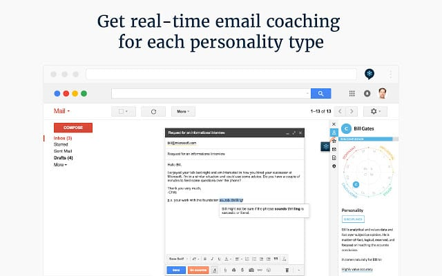 Crystal - Chrome extension for managing emails