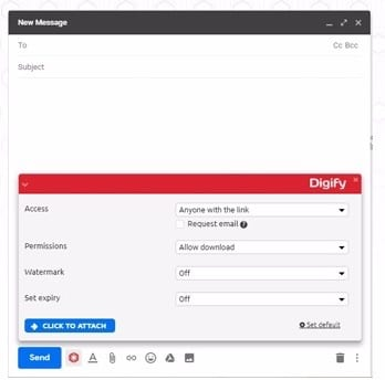 digify - chrome extensions for managing emails