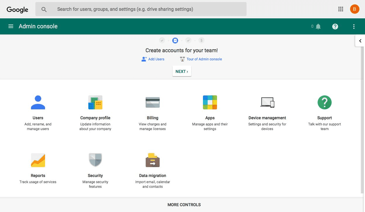add new users to g suite