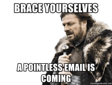 inbox zero spam is coming