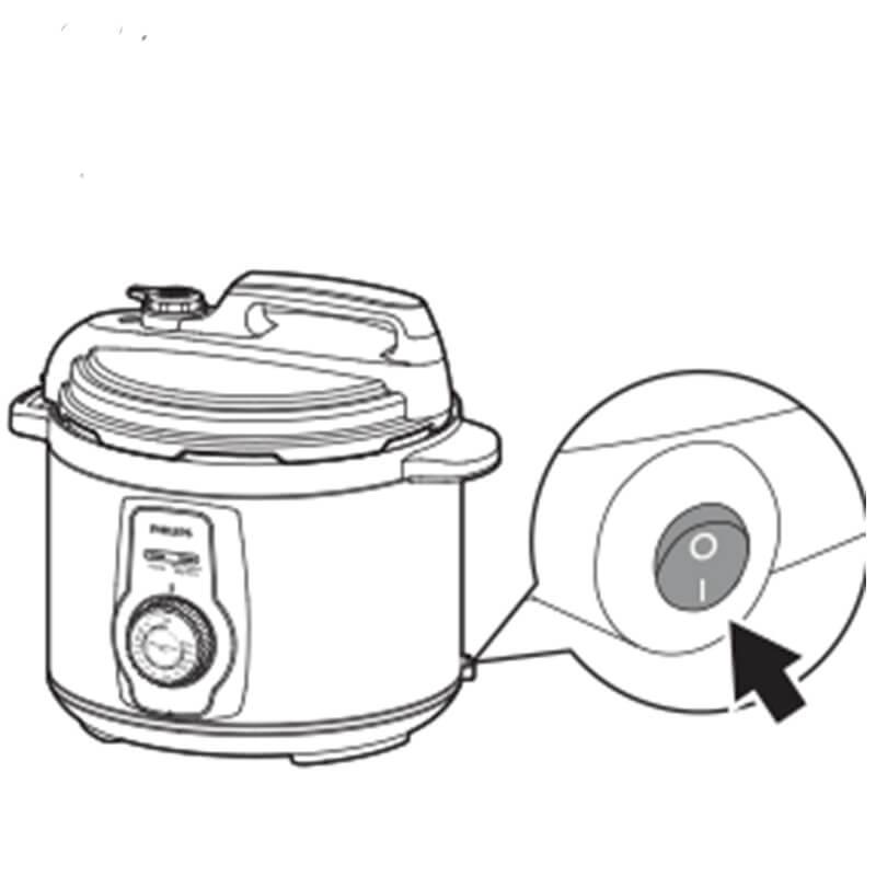 Cách sử dụng nồi áp suất điện Philips HD2103 8