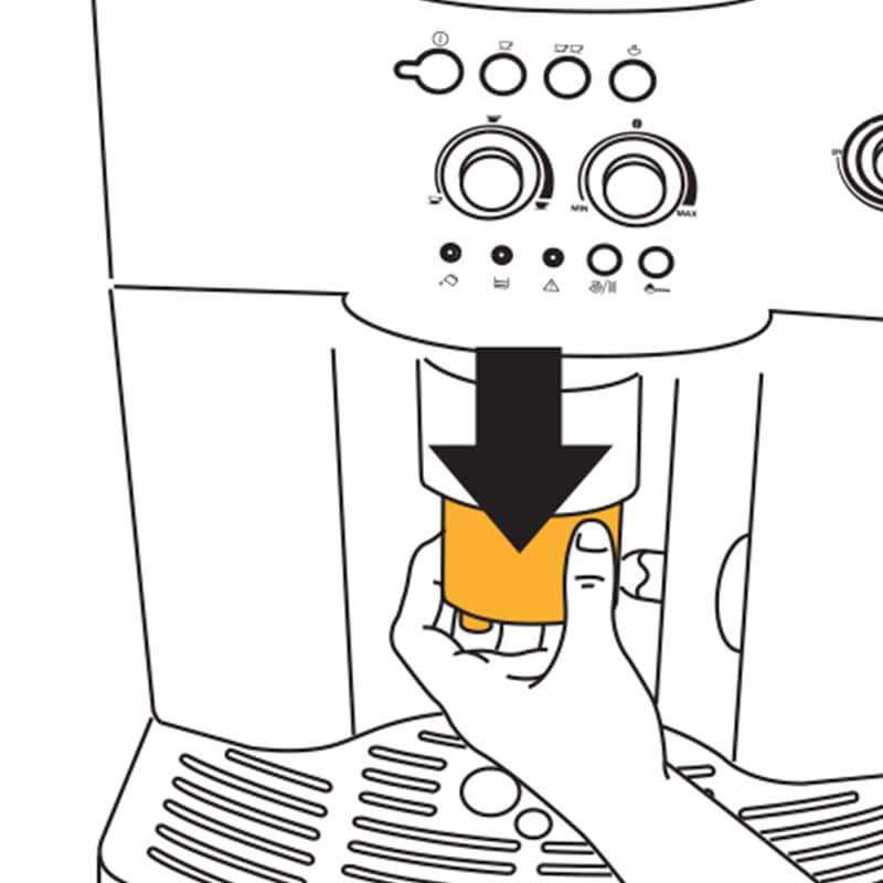 Cách sử dụng máy pha cafe Delonghi ESAM4000 11