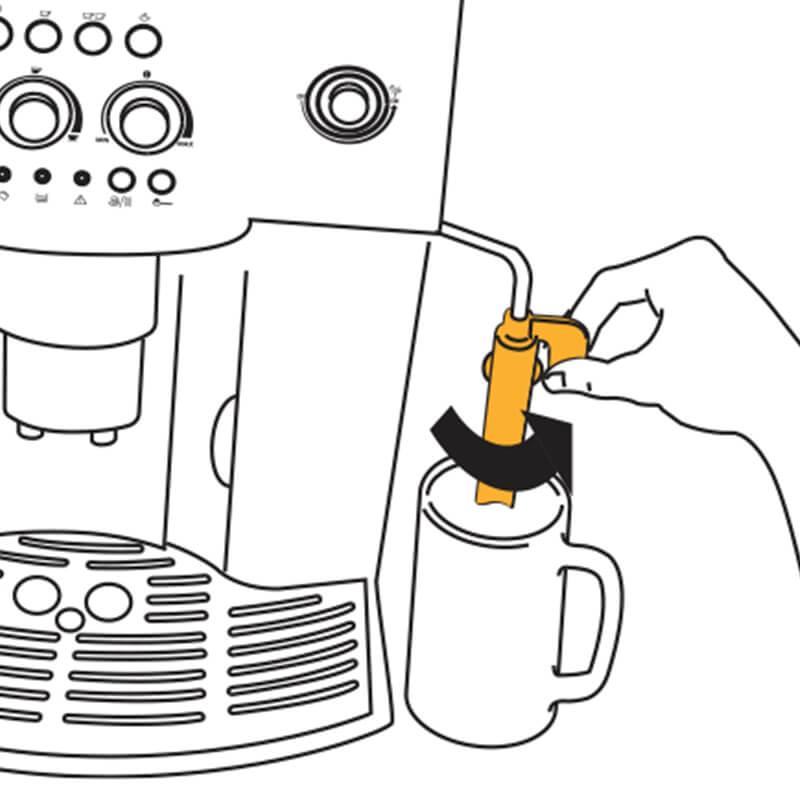 Cách sử dụng máy pha cafe Delonghi ESAM4000 3