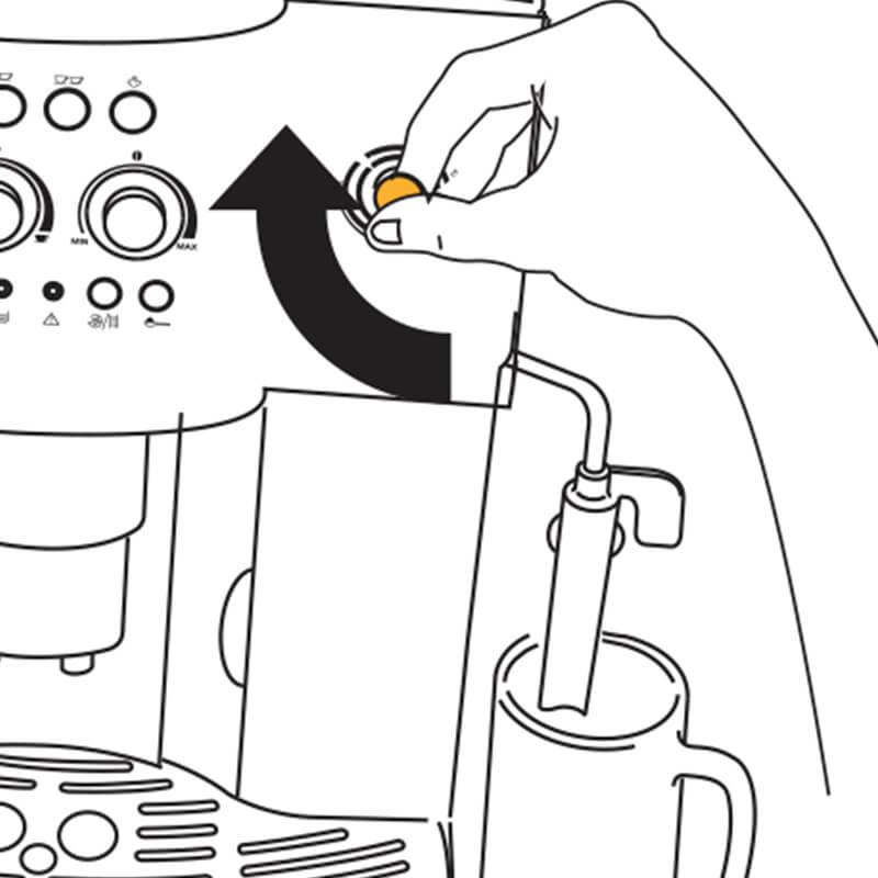 Cách sử dụng máy pha cafe Delonghi ESAM4000 6