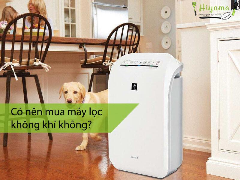 Có nên mua máy lọc không khí không