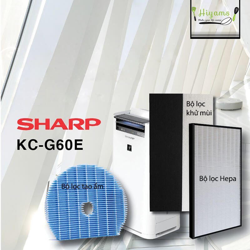 Hướng dẫn vệ sinh máy lọc không khí Sharp 2