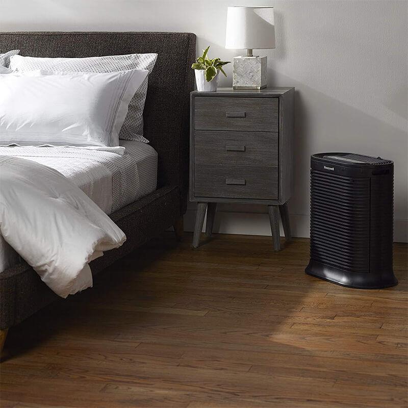 Nên đặt máy lọc không khí ở đâu trong phòng ngủ