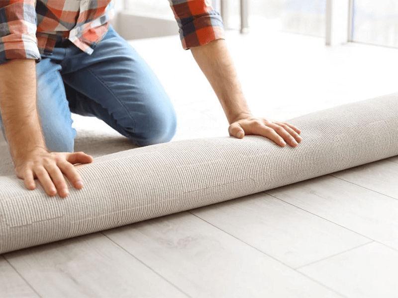 Thay thảm mới nếu thảm bạn đang dùng quá dày
