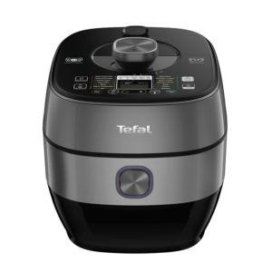 Nồi áp suất Tefal CY638868 đẹp mắt với màu đen bạc