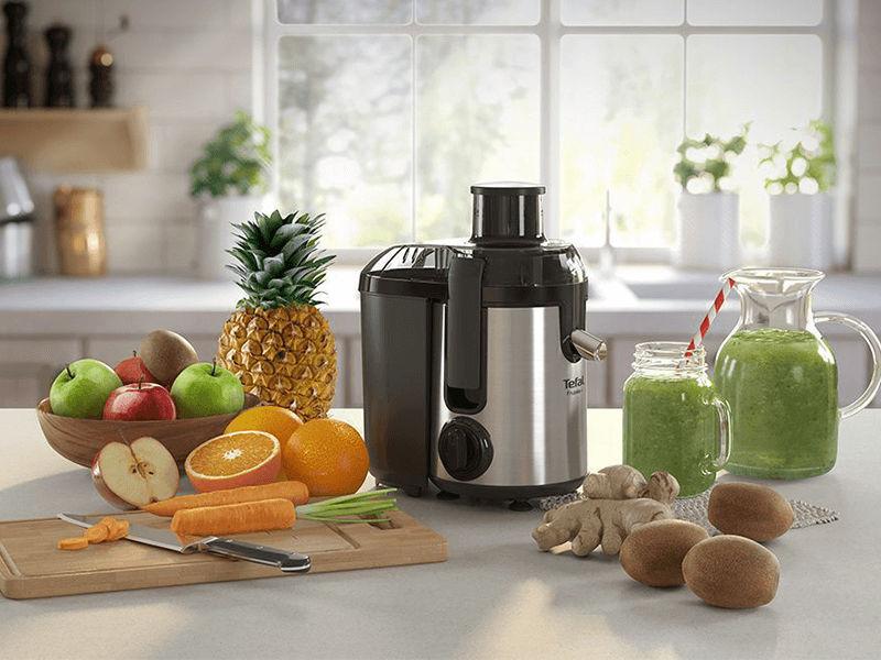 Bổ sung vitamin cho gia đình với máy ép trái cây Tefal ZE420D38