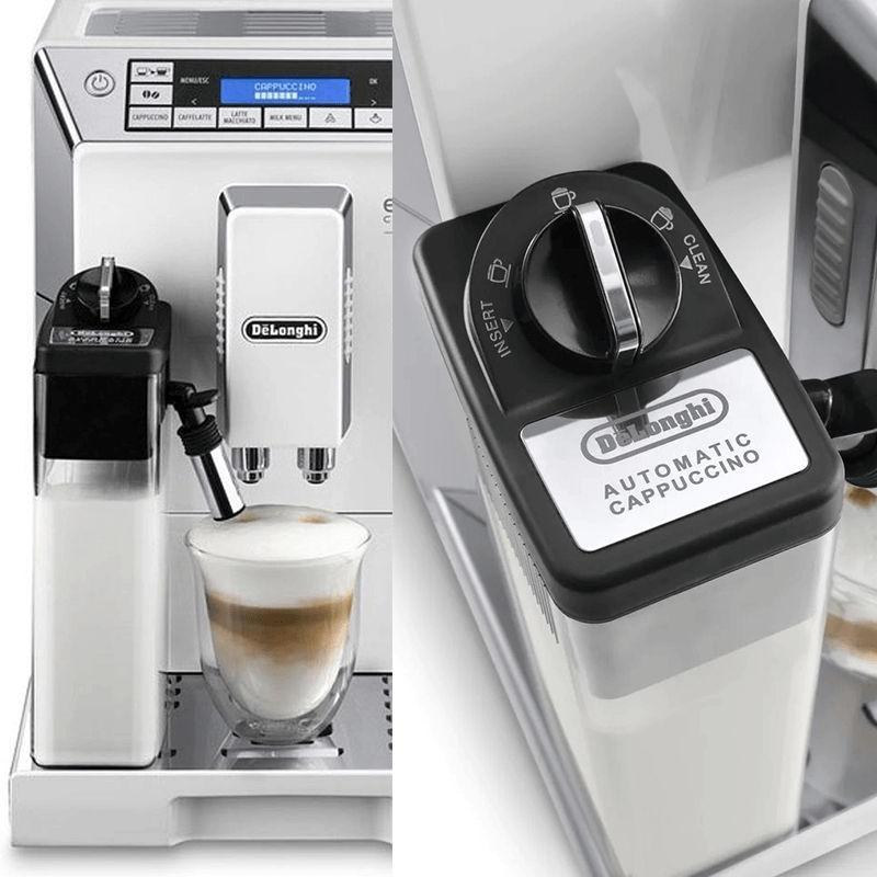 DeLonghi ECAM 45.760.W pha trộn hoàn hảo giữa tỷ lệ sữa và cafe
