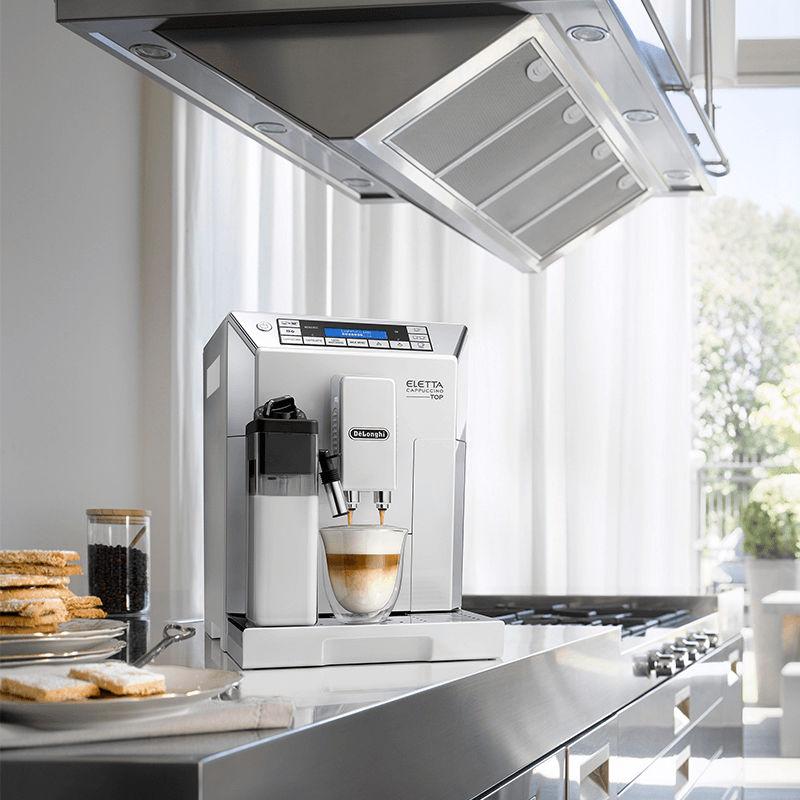 DeLonghi ECAM 45.760.W tạo sự sang trọng cho không gian bếp