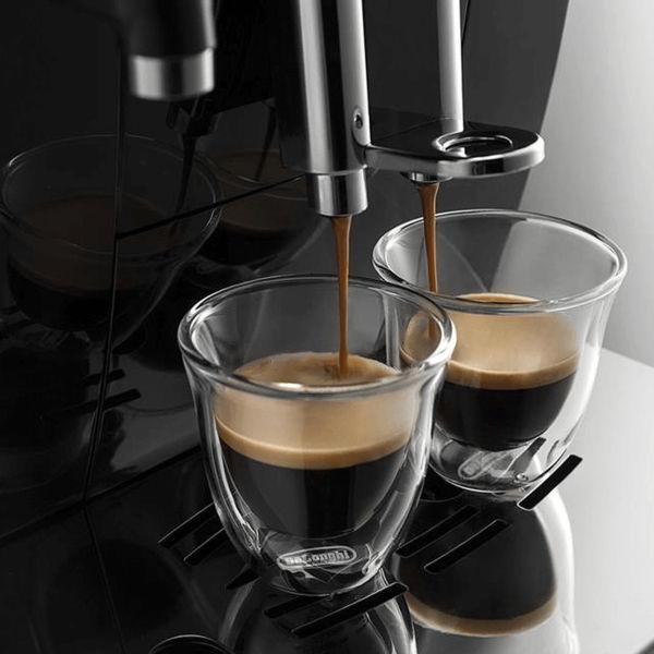 Delonghi ECAM 23.460 có thể pha cùng lúc 2 ly espresso