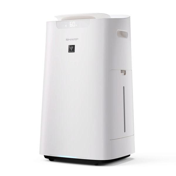 máy lọc không khí và tạo ẩm Sharp KI-L60V-W dễ dàng di chuyển với tay cầm 2 bên
