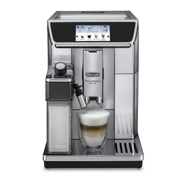 Máy pha cafe tự động Delonghi ECAM 650.75.MS có thể lưu giữ 6 loại đồ uống khác nhau