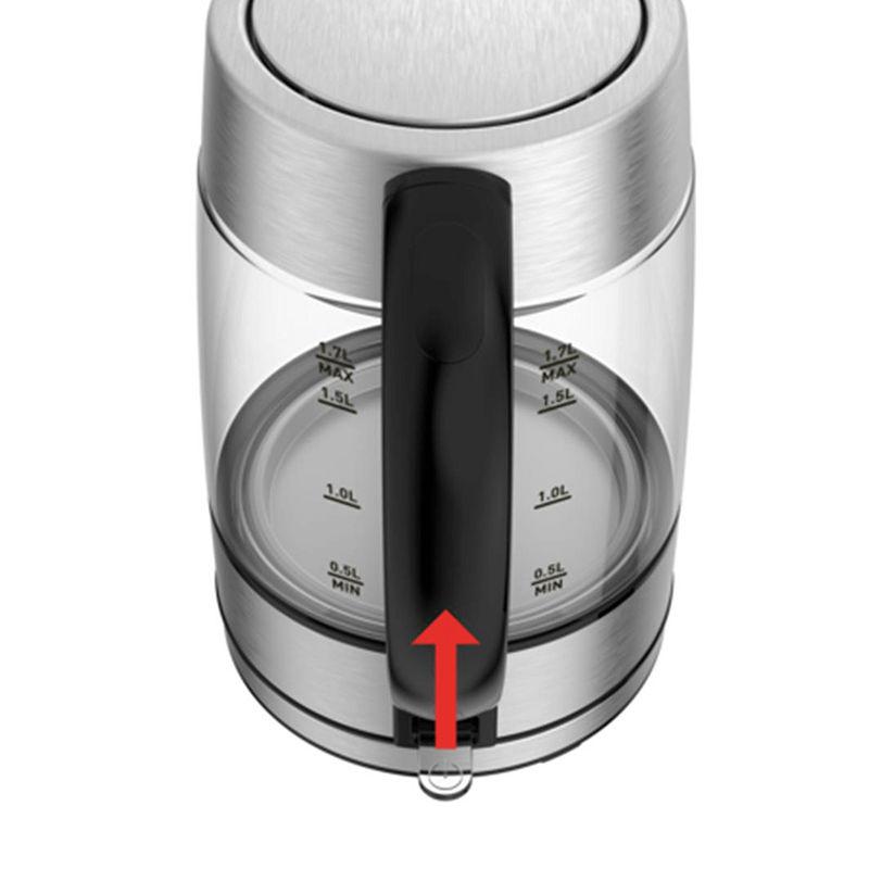 Tefal KI772D38 tự động tắt khi nước sôi đến 100 độ C