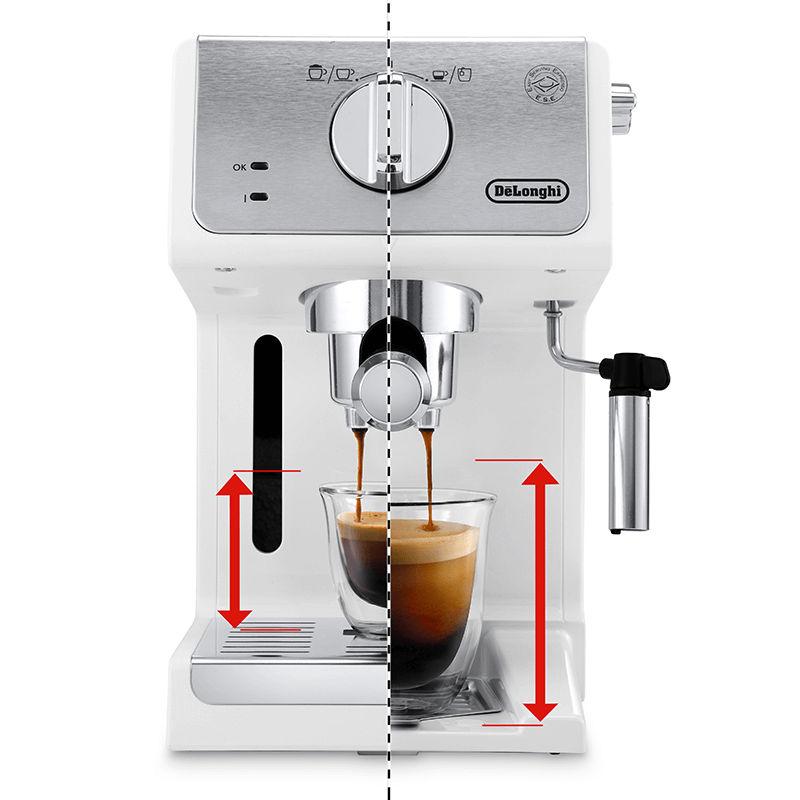 Khay nhỏ giọt máy pha cafe ECP33.21 có thể tháo rời