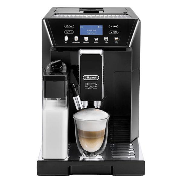 Máy pha cafe DeLonghi ECAM46.860.B tích hợp chức năng xay cafe tiện lợi