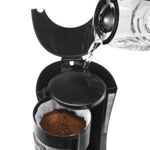 Máy pha cafe DeLonghi ICM15210.1 sử dụng bộ lọc giấy