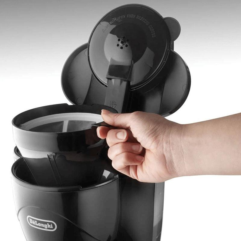 Máy pha cafe DeLonghi ICM2.1B sử dụng bộ lọc vĩnh viễn