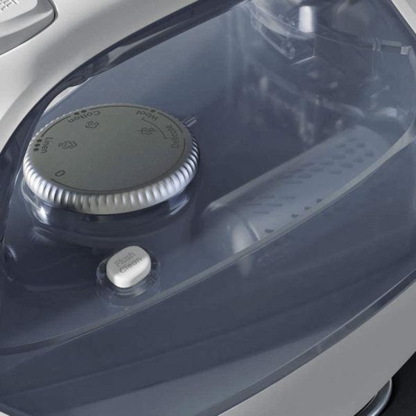 Bàn ủi E7SI1-60WB có 4 chương trình ủi phù hợp mọi loại vải