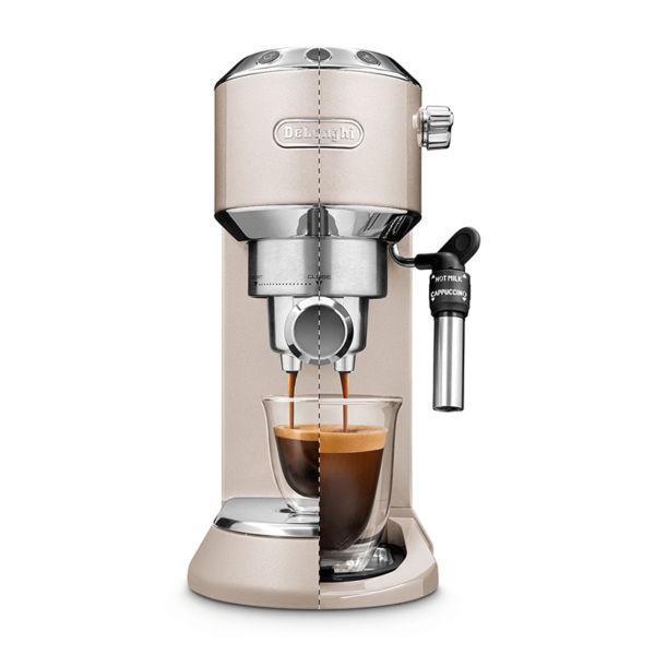 Máy pha cafe EC785 có thể điều chỉnh chiều cao cốc