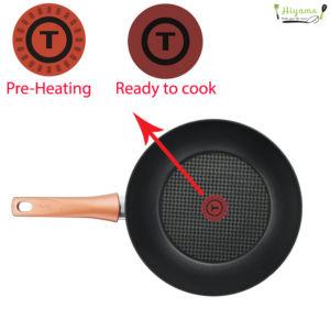 Bộ nồi chảo Tefal Cook&Shine G803S695 ứng dụng công nghệ Thermo-Spot