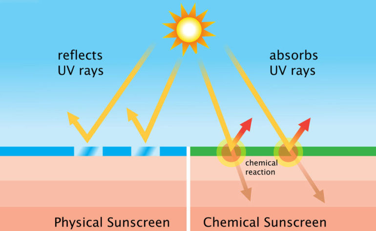 What are Physical and Chemical Sunscreens?