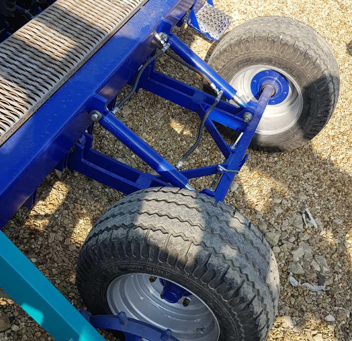 Rear Transport Axle