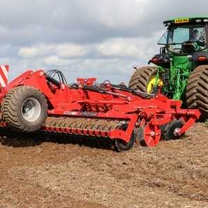 Disc Harrows and Min Till