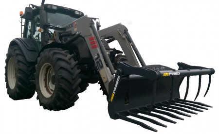 PRO-AG Power Muck Grab - High Tensile for Loaders & Skidsteers