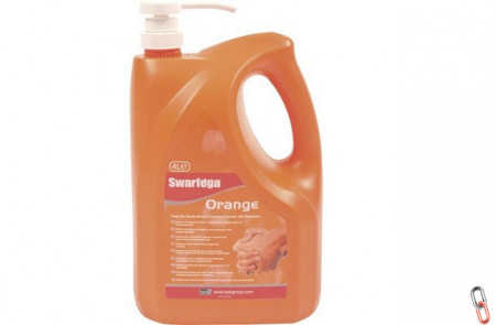 Swarfega Orange Cleansing Cream, 4.5 L